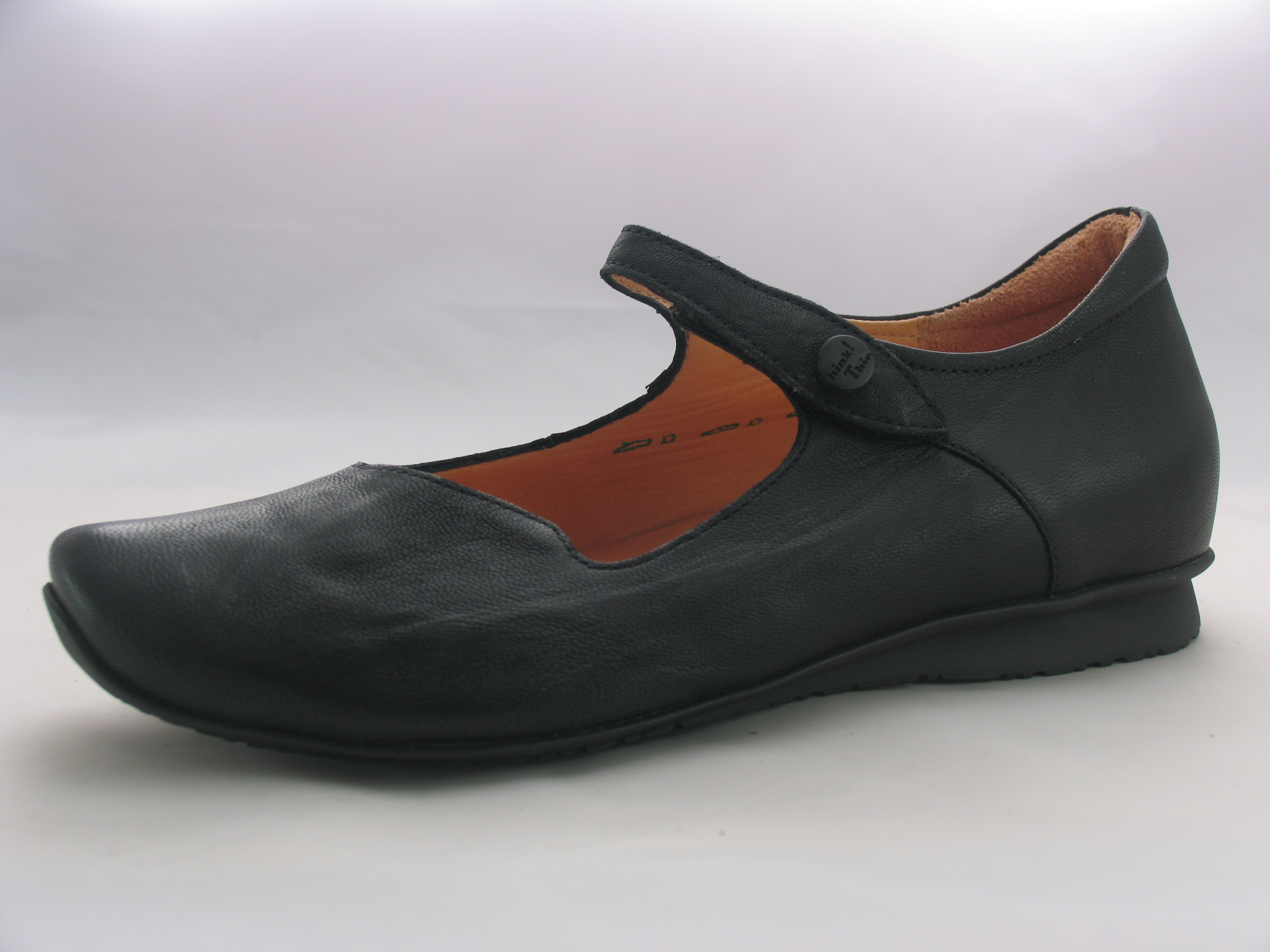 s think chilli 80107 black green leather bar shoes