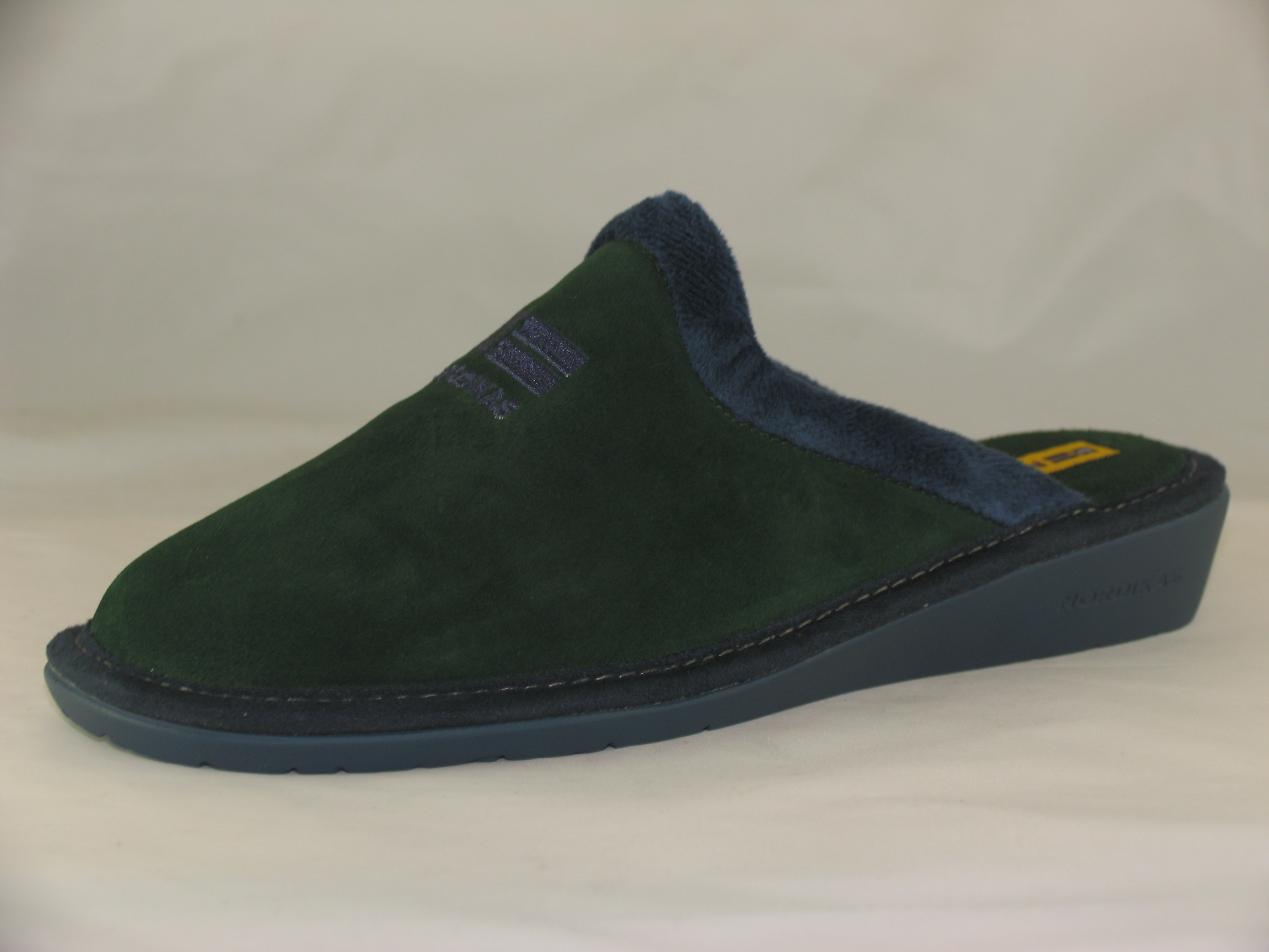 Women/'s Nordikas 280 Navy Suede Leather Bootee Style Slippers EU 36-42